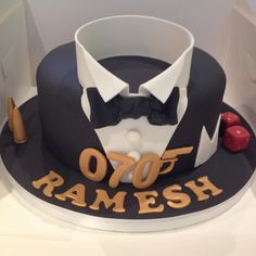 James Bond Cake More