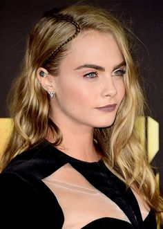 Cara Delevingne | The Best Celebrity Braid Hairstyles of ALL time | Hair Ideas