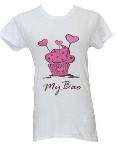 My Bae  #Cupcake #cupcakes #tshirt #tee #cute
