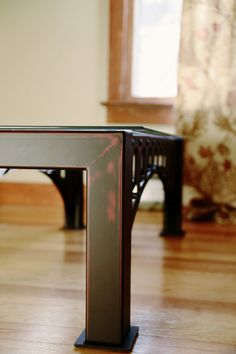 Custom Metal & Glass Coffee table by LiquidmetalworksNJ on Etsy