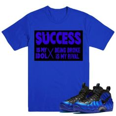 3a589b4e49f SUCCESS-Nike-Foamposite-HYPER-COBALT-Sneaker-Match-T-
