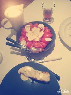 Repas sains en amoureux