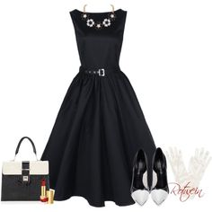 """""""50s"""" by rotwein on Polyvore"""
