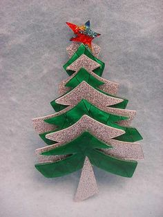 White Christmas Tree Pin, by Lea Stein, Paris | Jewelry - Lea ...