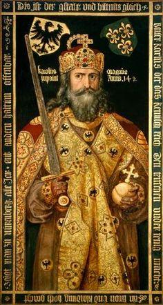 Albrecht Dürer - L'Empereur Charlemagne