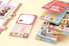 Use these sticky notes to flag dessert recipes, write sweet notes, and more.