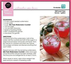 This sounds so refreshing!