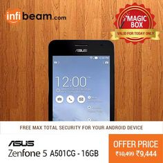 DEAL OF THE DAY !  Asus ZenFone 5 at Lowest Rate from Infibeam's MagicBox !  #MagicBox #Deals #DealOfTheDay #Offer #Discount #LowestRates #Asus #ZenFone5 #Smartphone #Mobiles
