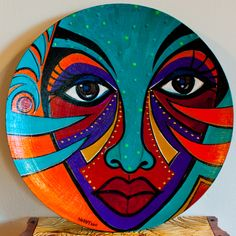Pebble Painting, Pebble Art, Stone Painting, Pottery Painting Designs, Rock Painting Designs, Glass Painting Patterns, Indian Art Paintings, Modern Art Paintings, Abstract Face Art