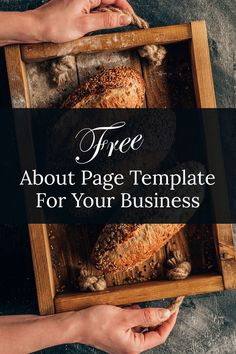 Generate a professional About Us page in no time with this free template. Wordpress Website Builder, Wordpress Website Development, Website Development Company, Website Design Cost, Website Design Services, Website Design Company, Free Web Design, Website Web, Design Templates