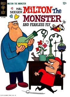 Milton The Monster comic, 1966.