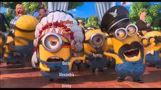 Minions Song ~ YMCA with Lyrics & full video clips [ Despicable me 2 ] Amor Minions, Despicable Me 2 Minions, Cute Minions, Minions Quotes, Funny Minion, Minions 2014, Minions Cartoon, Minion Stuff, Gif Rock