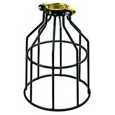 PLT MC200 - Metal Lamp Guard - Black - Replacement Cage