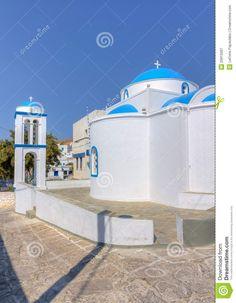 Theoskepasti Church, Kimolos, Greece.