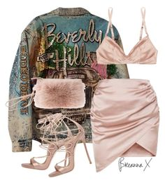"""""""Untitled #3266"""" by breannamules ❤ liked on Polyvore featuring Dsquared2 and Rituel by Carine Gilson"""