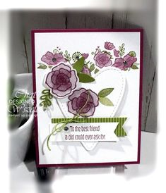 Stampin Up Forever Lovely (MeMy Stamps und ich) Mothers Day Cards, Valentine Day Cards, Holiday Cards, Valentines, Fun Fold Cards, Love Cards, Valentine's Day Gift Baskets, Heart Cards, My Stamp