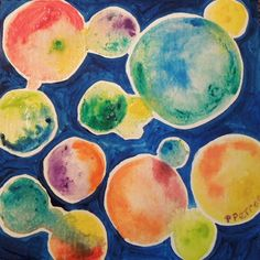 Original Watercolor Abstract Geometric by PetrocyStudios on Etsy