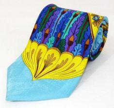 NWOT Rush Limbaugh No Boundaries Collection Vibrant Colors Silk Neck Tie