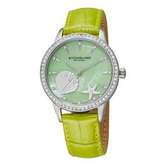 @Overstock - This women's Swiss quartz watch combines avant-garde design and bold marine colors with Swiss accuracy for a timepiece that is both fashionable and practical. It is water-resistant to 165 feet, so you can enjoy wearing it even when you swim.http://www.overstock.com/Jewelry-Watches/Stuhrling-Original-Womens-Verona-La-Playa-Swiss-Quartz-Watch/6362231/product.html?CID=214117 $81.99