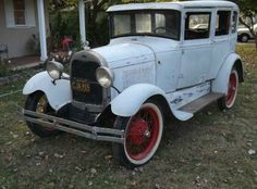 1929 Ford Model A restoration project