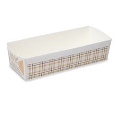 Welcome Home Brands Honey Fine Check Loaf Pan Disposable Bakeware ... http://www.bakedeco.com/
