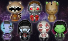 Funko and Vinyl Sugar getting a-Dorbz-able with their new Guardians of the Galaxy Dorbz Vinyl Figures, featuring the heroes and villains of Marvel's hit!
