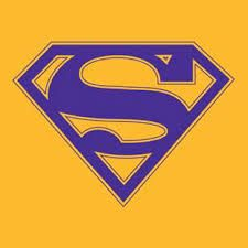superman logo orange and purple - Google Search