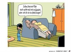 lustiges Bild 'Sollen Oma und Opa noch weiter....jpg'- Eine von 4184 Dateien in der Kategorie 'Cartoons / Comics' auf FUNPOT.