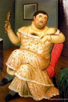 Fernando Botero Paintings Art Gallery Pictures
