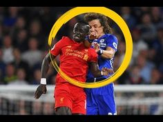 David Luiz left with bloody nose after Sadio Mane Liverpool clash . Football Latest, Liverpool, Music, Youtube, Sports, Top, Hs Sports, Sport, Muziek
