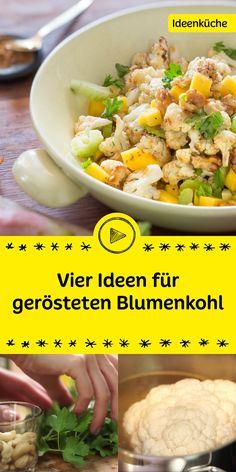 Du magst Blumenkohl auch so gerne wie wir? Dann bist du hier genau richtig! Wir zeigen dir in unserem Video vier tolle Ideen, wie du gerösteten Blumenkohl zubereiten kannst. Einfach köstlich.
