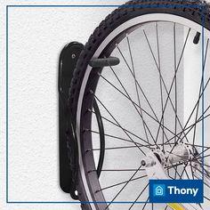 Dica de presente para o Dia dos Pais: suporte vertical para bicicleta.