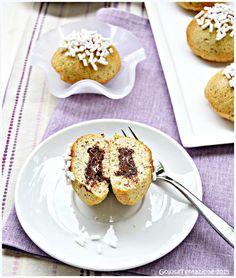 Tortine alle nocciole e mandorle con crema al cioccolato (senza burro e olio)