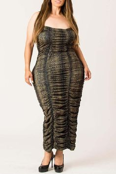 Looking for womens plus size wedding dresses? the perfect plus size dresses at CurveGirl for any occasion, including wedding, party and maxi dresses in all colors. Ruched Dress, Bodycon Dress, Spaghetti Strap Dresses, Formal Dresses, Fabric, Prints, Animal, Products, Fashion