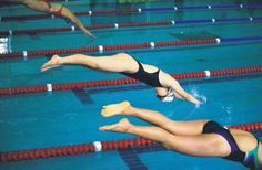 Swimming routines to burn those calories!