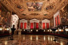 Re-opening of restored historic building Scuola Grande di San Rocco by Jaeger-LeCoultre