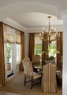 LOVE! for dining room Kathy Bloodworth - traditional - dining room - san francisco - Kathy Bloodworth Interior Design