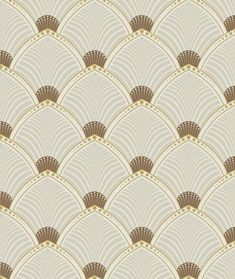 The Art Deco inspired 'Arches' design showcases the classic sunburst and fan theme in a combined and striking pattern. Contrasting colours keep the design dynamic while the repeated fan-shaped design adds an attractive regularity to a wall. Aqua Wallpaper, Art Deco Wallpaper, Textured Wallpaper, Pattern Wallpaper, Cute Wallpaper Backgrounds, Fabric Wallpaper, Wallpapers, Art Deco Pattern, Pattern Design