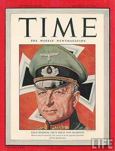 Time #2 - January 10, 1944 - Erich von Manstein | Flickr - Photo Sharing!