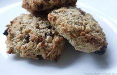 Breakfast cookies (sugar free, wheat free, dairy free)