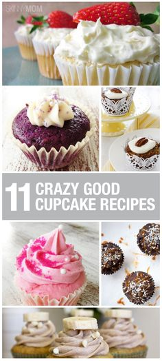 These yummy, delicious treats will make your mouth water!  You have to try these cupcake recipes!