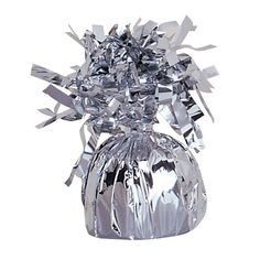 Check out Silver Foil Balloon Weight - Balloons and 30th Birthday Parties Supplies from Birthday In A Box