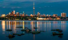 Toronto Skyline - Toronto skyline in summer.