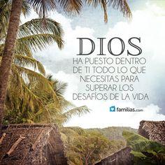 Sé valiente y ten fe