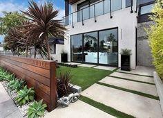 modern front yard designs  ideas front yard