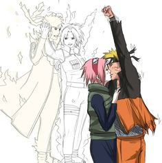 NaruSaku War Doodles by chiyuu-kun on deviantART