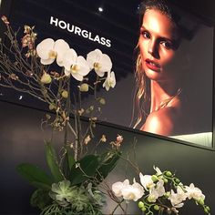 Gorgeous arrangement at the Ambient Lighting Bronzer launch event last night. Ambient Lighting Bronzer is now available at Hourglass Abbot Kinney. Thanks to everyone who came out! #HGAK