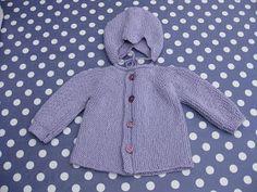 Skapa och Inreda: Tre små stickade koftor Knitting For Kids, Baby Knitting Patterns, Crochet Baby, Knit Crochet, Batik, Kids Patterns, Diy And Crafts, Children, Sweaters