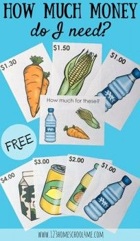 FREE Grocery Task Cards