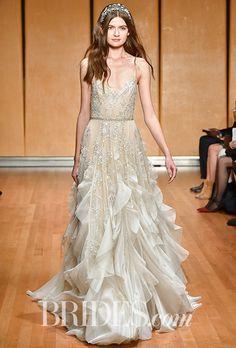 886146424b7 Brides  Inbal Dror Wedding Dresses - Fall 2017 - Bridal Fashion Week  Wedding Dresses Photos